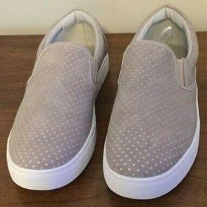 Seven7 Gemini Taupe Slip On Shoes